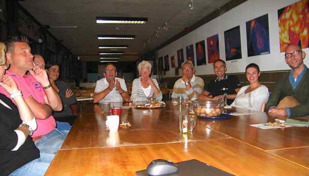 Rond de tafel met de Herenboeren